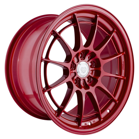 Enkei NT03+M Wheel: 18x9.5 5x100 40mm Offset (Competition Red)