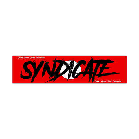 "Syndicate ""Assassin Style"" Good Vibes Bad Behavior Slap - Syndicate Auto Salon"