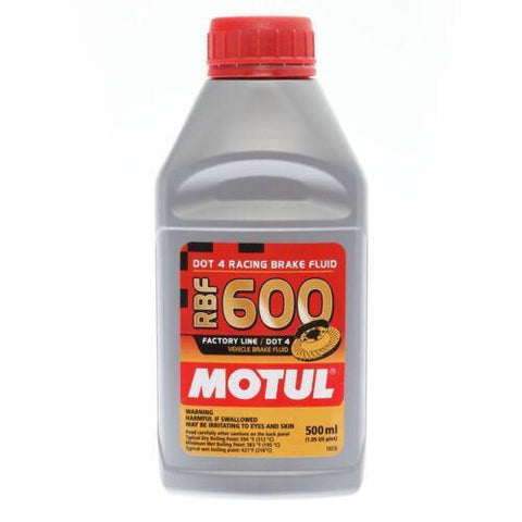 Motul RBF 600 Racing - Brake Fluid DOT 4, 1/2L - Syndicate Auto Salon