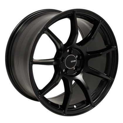 Enkei TS9 Wheel: 18x8 5x108 45mm Offset (Bore Black)