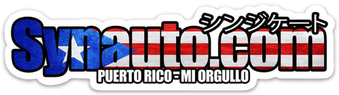 SynAuto Sticker [Puerto Rico Relief Fund]