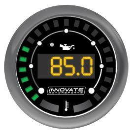 "Innovate Motorsports MTX-D Digital ""Dual-Function"" Gauge: Oil Pressure / Oil Temperature"