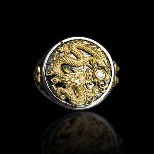 Dragon Carved Ring