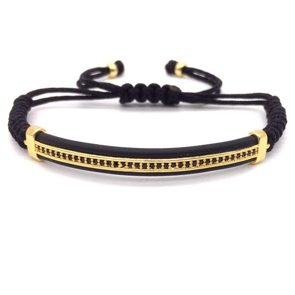Gem Paved Band Bracelet