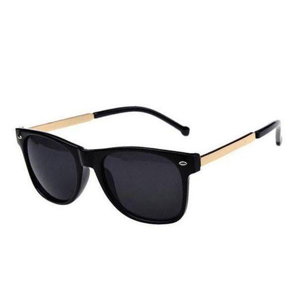 Gold Temple Sunglasses
