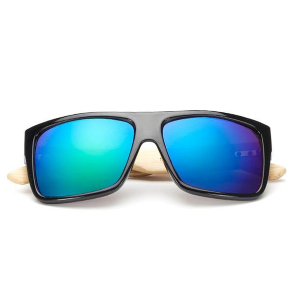 Rectangle Bamboo Sunglasses