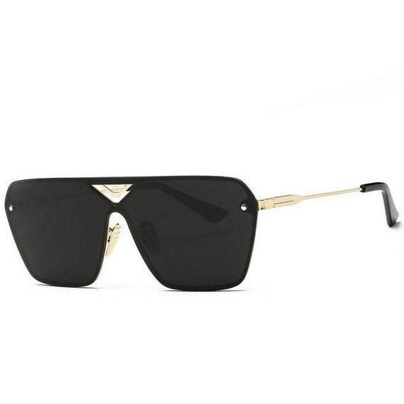 Rimless Conjoined Sunglasses