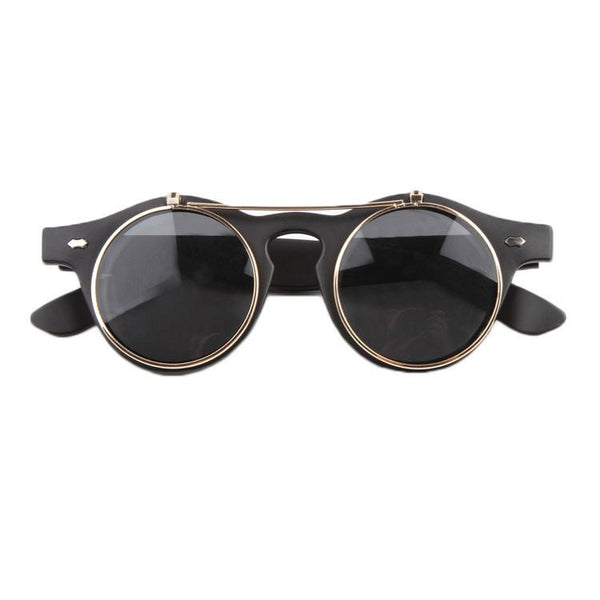Steampunk Gold Highlight Sunglasses