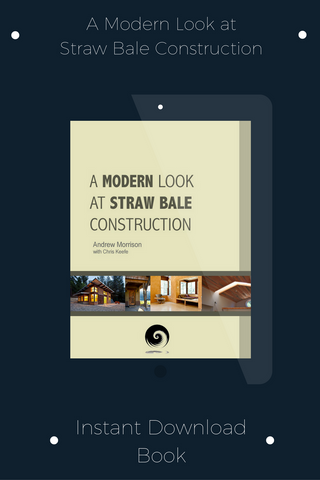 Book-A Modern Look At Straw Bale Construction-INSTANT DOWNLOAD