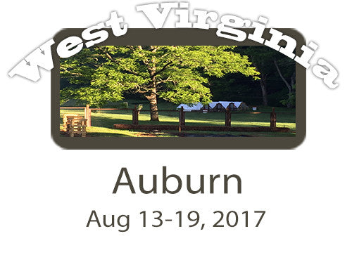 Workshop FULL PAYMENT: Auburn, WV 8/13-19/17