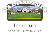 WORKSHOP-Temecula, CA 9/30-10/6, 2018-$200 Discount