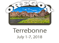 z-WORKSHOP-Terrebonne, OR July 1-7, 2018-$100 Discount