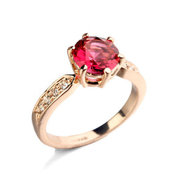 Elegant Rose Gold Plated Ring (Available in 4 colors) - Jewel Volt