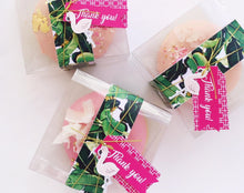 The Hills Flamingo Printable Party Favour Tags