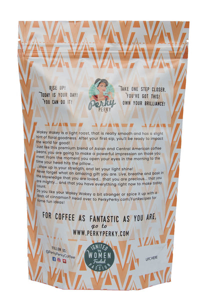Wakey Wakey - Costa Rican Tarrazu Light Roast Coffee - 12 oz.