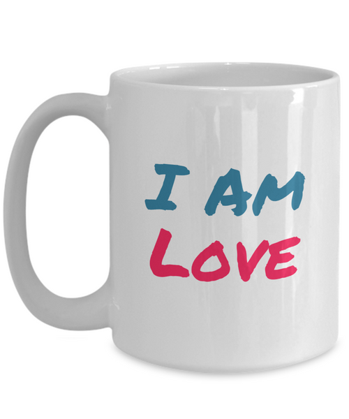 I am Love 15 oz Coffee Mug