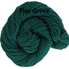 The FIber Seed Sprout fingering, 480 yds, pine grove color