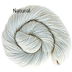 The Fiber Seed Sprout Fingering, 480 yds, natural color