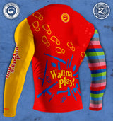Continuous Flow Chucky Rashguard (RED)