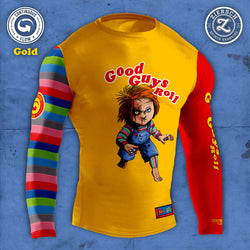 Continuous Flow Chucky Rashguard (YELLOW)