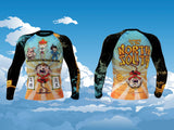 Monkey King Journey to the North South Rashguard