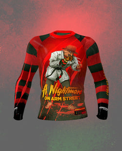 Nightmare on Arm Street Rashguard