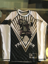 White Gold Predator Proof Rash Guard