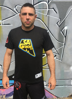 Continuous Flow SA Gracie BJJ T-Shirt