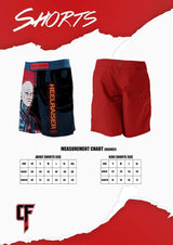 Continuous Flow Jitsaw MMA Shorts