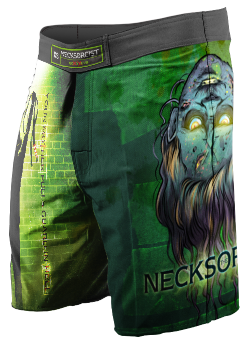 The Necksorcist MMA/NoGi Shorts