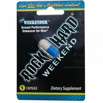 Rock Hard Weekend Male Supplement Pill