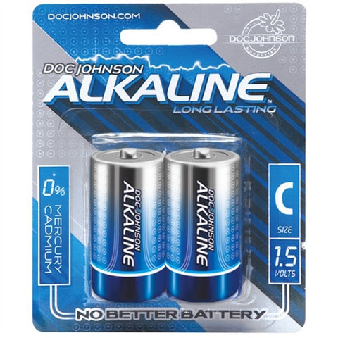 Doc Johnson Alkaline C Batteries - House of Pleasures Luxury Adult Sex Toy Store