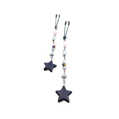 Bijoux de Nip Blue Stars Nipple Clamps | House of Pleasures