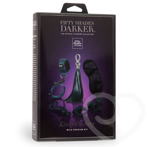 Fifty Shades Darker - Kinky Fuckery Kit - House of Pleasures Luxury Adult Sex Toy Store