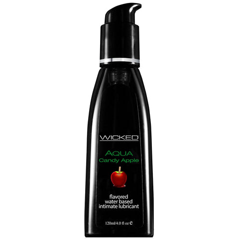 Wicked Sensual Aqua Candy Apple Flavored Lube | House of Pleasures