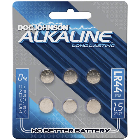 Doc Johnson Alkaline Batteries - Lr44 - 15 Volts - House of Pleasures Luxury Adult Sex Toy Store