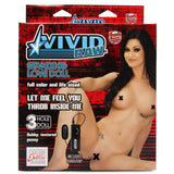 Vivid Raw Standing Doll in White - House of Pleasures Luxury Adult Sex Toy Store