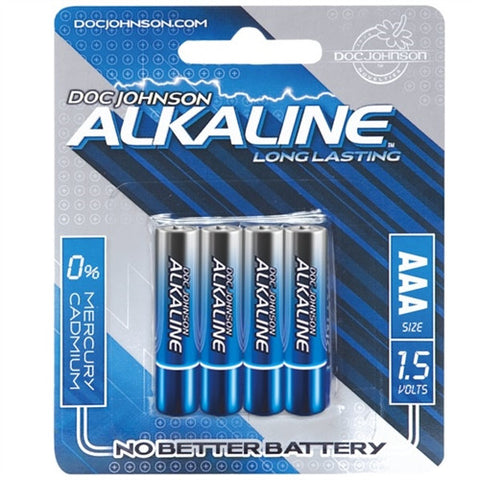 Doc Johnson Alkaline AAA Batteries - House of Pleasures Luxury Adult Sex Toy Store