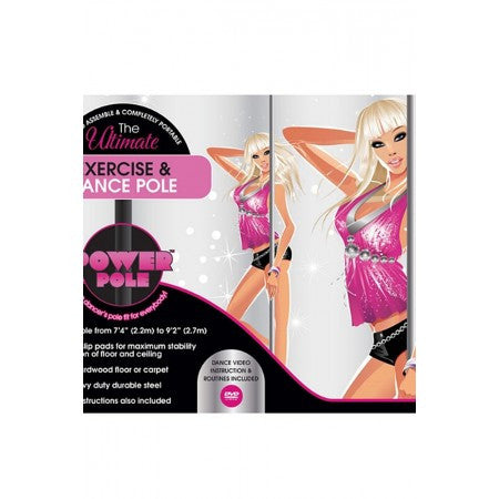 Power Pole Exercise and Dance Pole - House of Pleasures Luxury Adult Sex Toy Store