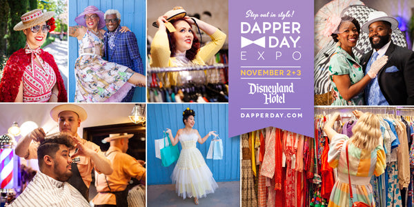Bella Starr is back at the Dapper Day Fall Expo