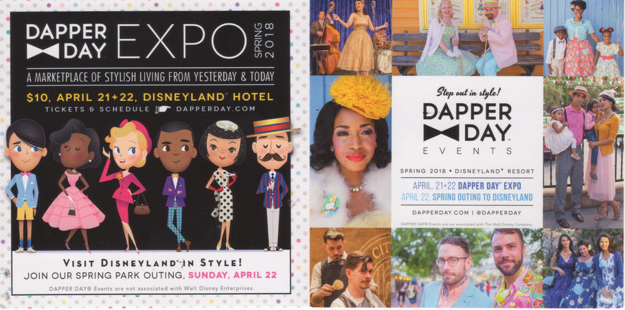Dapper Day Expo on April 21 + 22