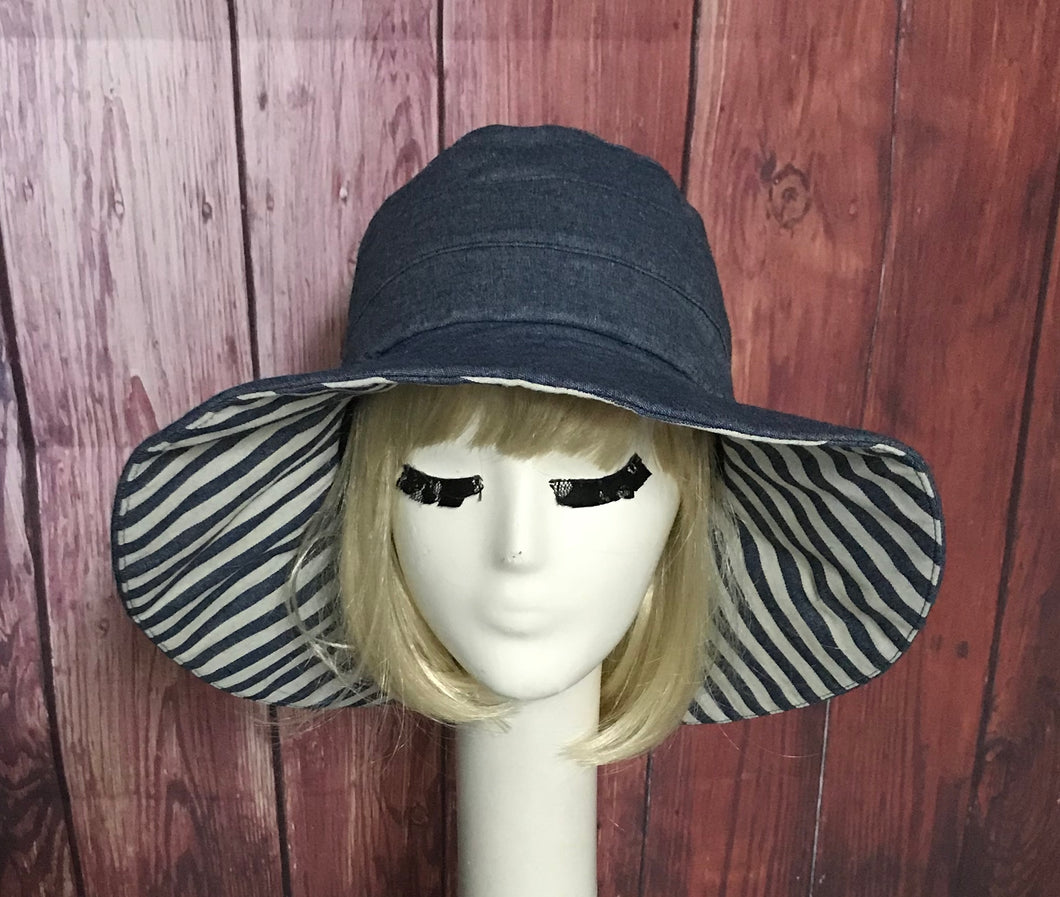 Floppy Hat Denim Chambray