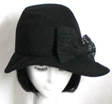 Cloche Hat Bow
