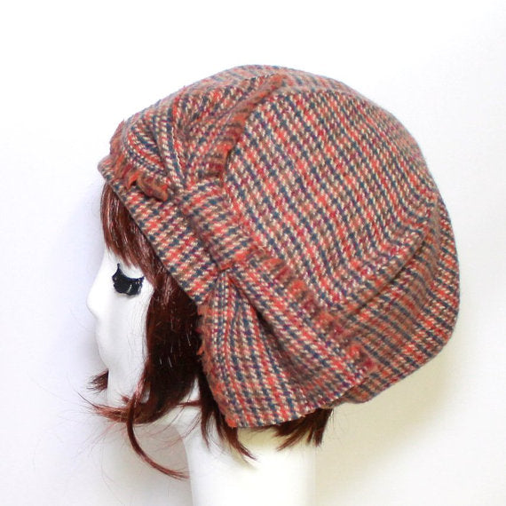 Wool Beret Hat Bow