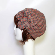 Frenchie Beret Wool Flower