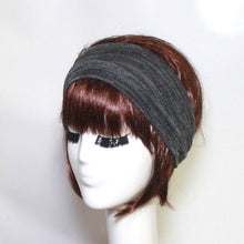 Load image into Gallery viewer, Knit Grey Headband