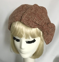 Wool Tweed Beret Hat