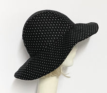 Load image into Gallery viewer, Polka Dot Sun Hat