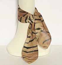 Load image into Gallery viewer, Cheetah Chiffon Scarf