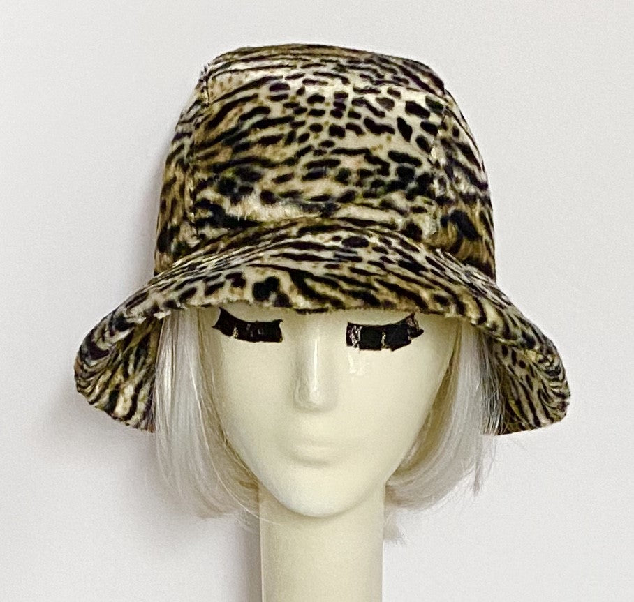 Leopard Cloche Hat